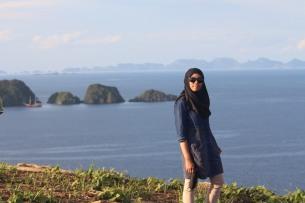 Puncak Batbitim island